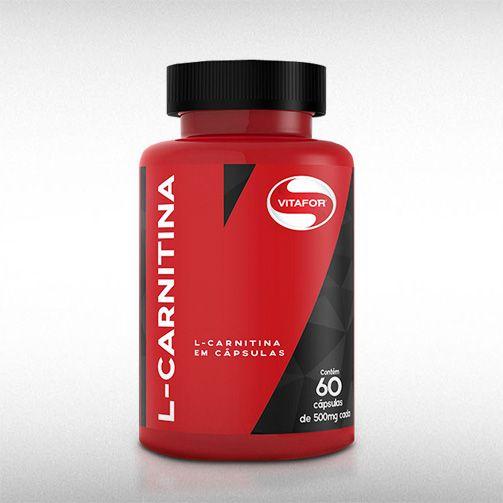 L-CARNITINA (60CAPS) - VITAFOR  - BRASILVITA