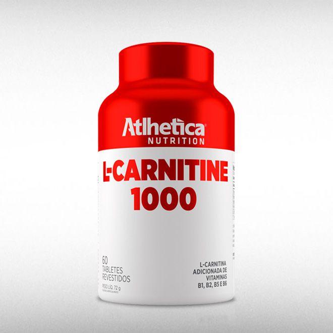 L-CARNITINE 1000 (60TABS) - ATLHETICA  - BRASILVITA