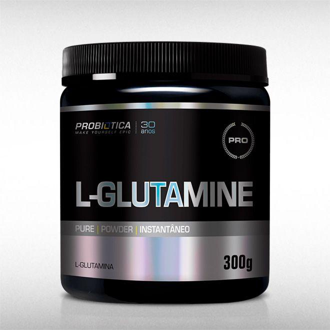L-GLUTAMINE (300G) - PROBIÓTICA  - BRASILVITA