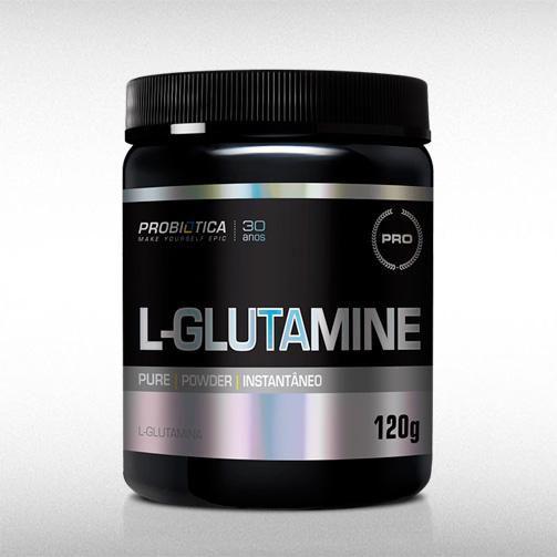 L-GLUTAMINE NATURAL (120G) - PROBIÓTICA  - BRASILVITA