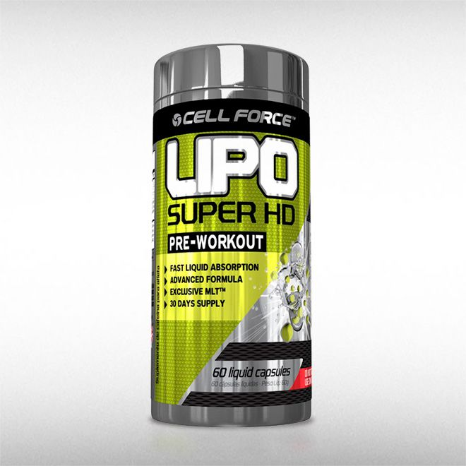 LIPO SUPER HD (60 CAPS) - CELL FORCE  - BRASILVITA