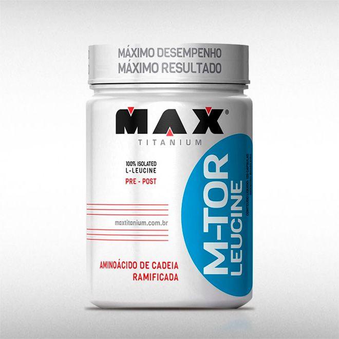 M-TOR LEUCINE (100G) - MAX TITANIUM  - BRASILVITA