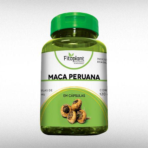 MACA PERUANA 500MG (120CAPS) - FITOPLANT  - BRASILVITA