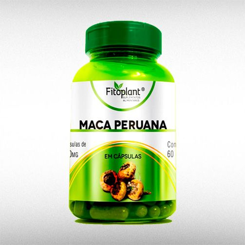 MACA PERUANA 500MG (60CAPS) - FITOPLANT  - BRASILVITA