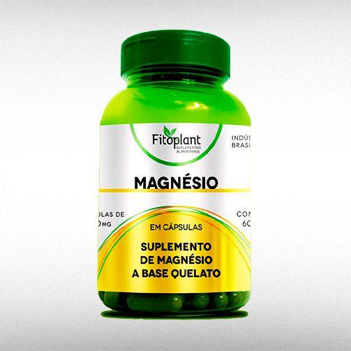 MAGNESIO QUELATO 1000MG (60CAPS) - FITOPLANT  - BRASILVITA