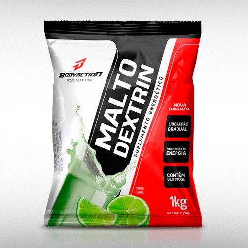 MALTODEXTRIN (1KG) - BODYACTION  - BRASILVITA