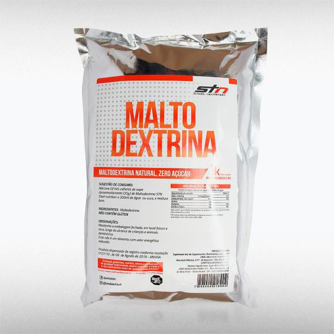 MALTODEXTRINA NATURAL (1KG) - STEEL NUTRITION  - BRASILVITA