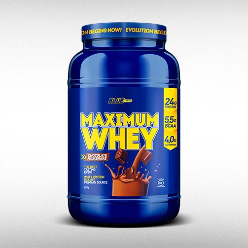 MAXIMUM WHEY (2LBS) - BLUE SERIES  - BRASILVITA