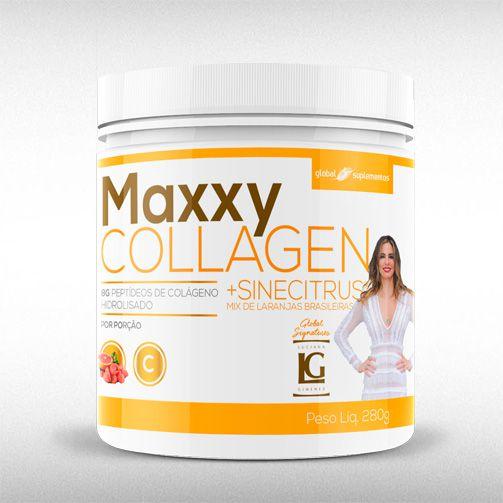 MAXXY COLLAGEN (280G) - GLOBAL SUPLEMENTOS  - BRASILVITA