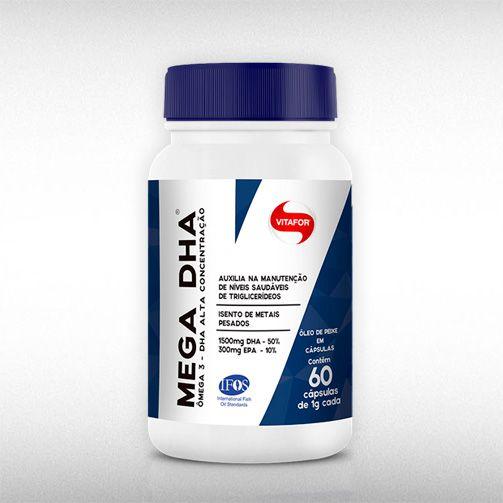 MEGA DHA (60CAPS) - VITAFOR  - BRASILVITA