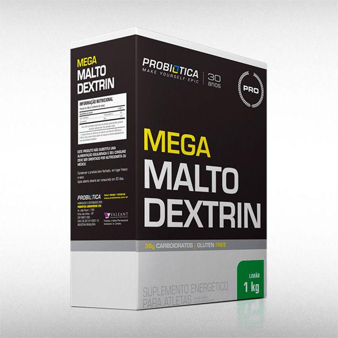 MEGA MALTODEXTRIN (1KG) - PROBIÓTICA  - BRASILVITA