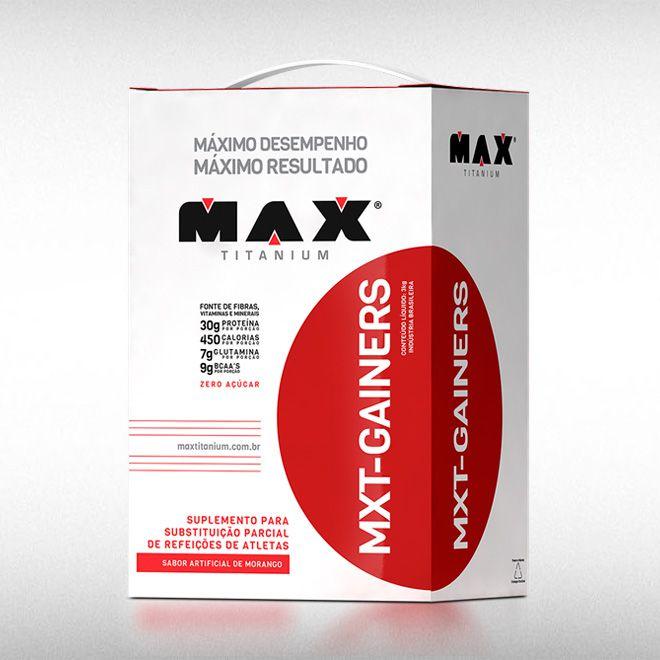 MXT GAINERS (3KG) - MAX TITANIUM  - BRASILVITA