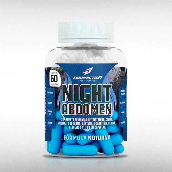 NIGHT ABDOMEN (60CAPS) - BODYACTION  - BRASILVITA