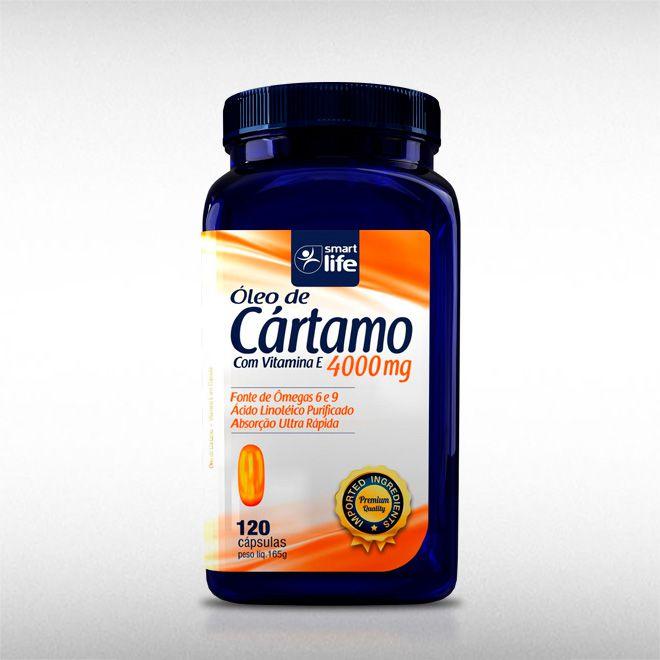 ÓLEO DE CÁRTAMO (120CAPS) - SMART LIFE  - BRASILVITA