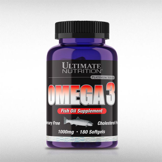 OMEGA 3 1000 MG (180 SOFTGELS) - ULTIMATE  - BRASILVITA
