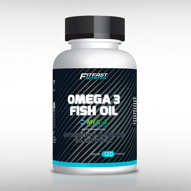 OMEGA 3 (120CAPS) - FIT FAST  - BRASILVITA