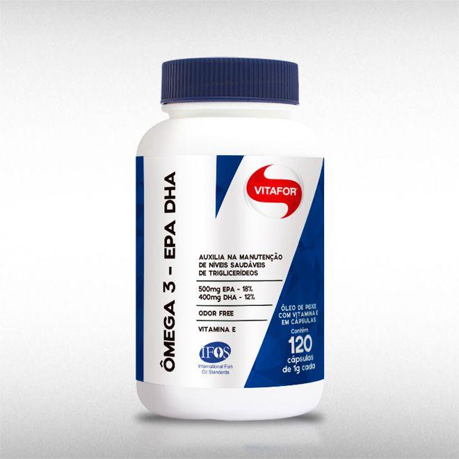 OMEGA 3 EPA e DHA 1000MG (120 CAPS) - VITAFOR  - BRASILVITA