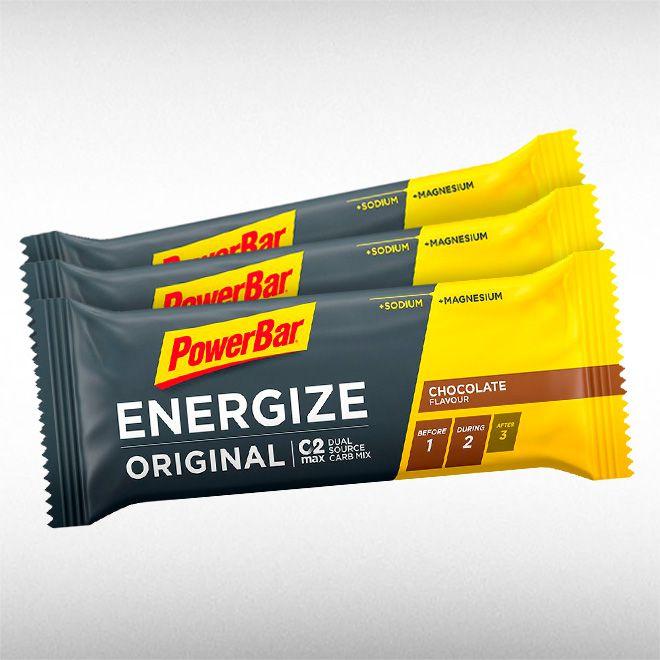 POWERBAR ENERGIZE BAR (BARRA DE 55G) - POWER BAR  - BRASILVITA