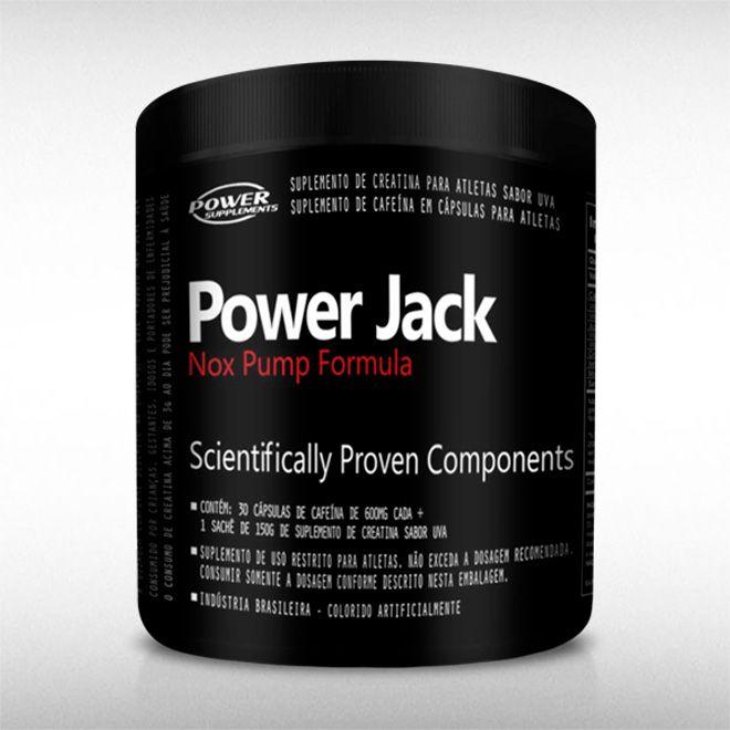 POWER JACK  (30 DOSES) - POWER SUPPLEMENTS  - BRASILVITA