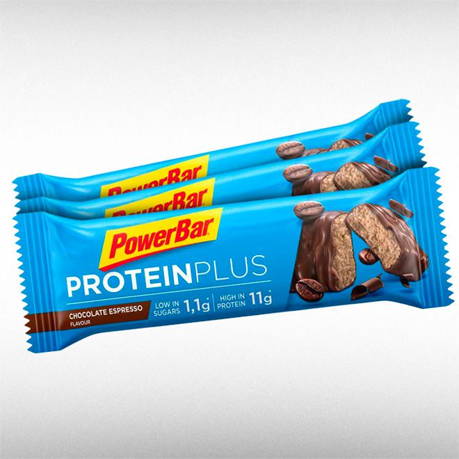 POWERBAR PROTEIN PLUS LOW SUGAR (BARRA DE 35G) - POWER BAR  - BRASILVITA