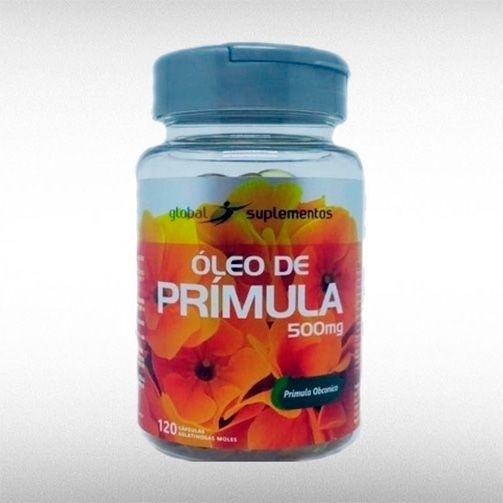 PRÍMULA 9% 500 MG OLEO ORGAN (120CAPS) - GLOBAL SUPLEMENTOS  - BRASILVITA