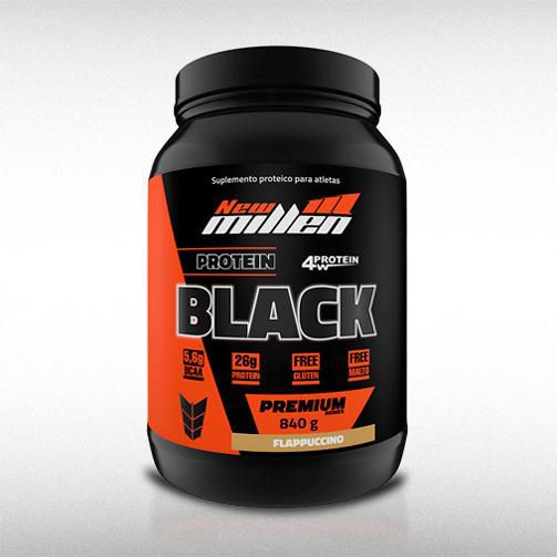 PROTEIN BLACK (840G) - NEW MILLEN  - BRASILVITA