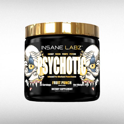PSYCHOTIC GOLD (204G) - INSANE LABZ  - BRASILVITA