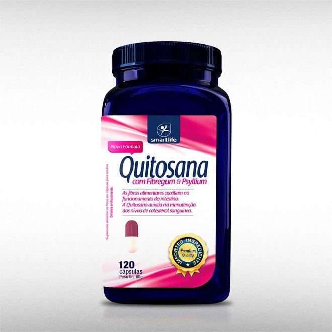 QUITOSANA (120CAPS) - SMART LIFE  - BRASILVITA