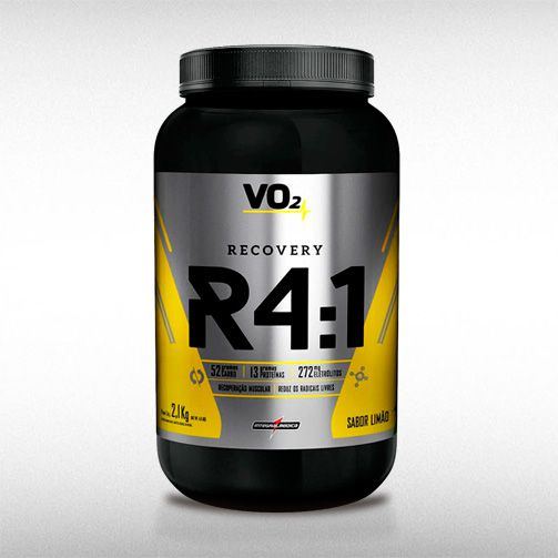 R4:1 RECOVERY POWDER VO2 DRINK (2,1KG) - INTEGRALMEDICA  - BRASILVITA