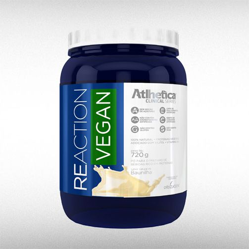 REACTION VEGAN (720G) - ATLHETICA  - BRASILVITA