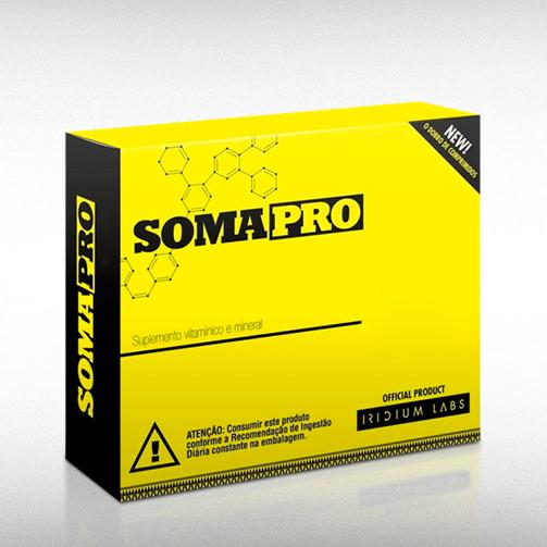 SOMA PRO ZMA (30 CAPS)  -  IRIDIUM LABS  - BRASILVITA