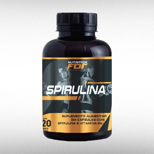 SPIRULINA 500MG (120CAPS) - NUTRITION FOR  - BRASILVITA