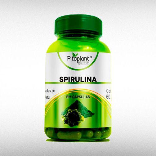 SPIRULINA 600MG (60CAPS) - FITOPLANT  - BRASILVITA