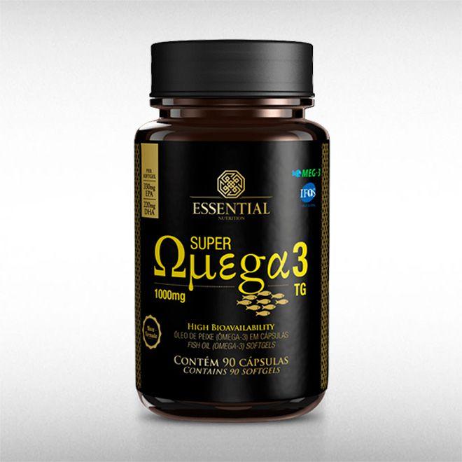 SUPER OMEGA 3 TG 1G (90CAPS) - ESSENTIAL  - BRASILVITA
