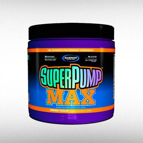SUPER PUMP MAX (480G) - GASPARI  - BRASILVITA