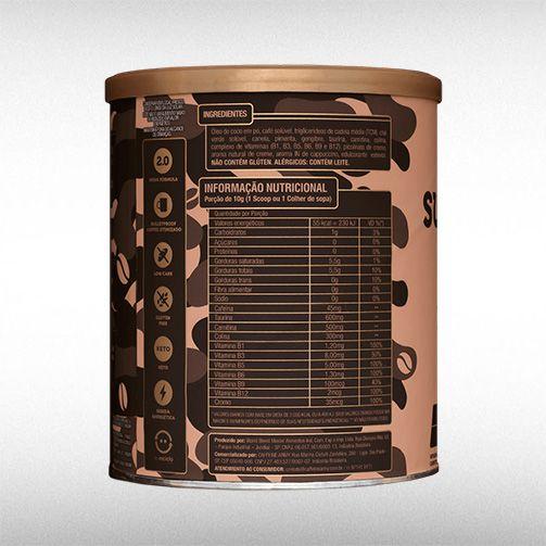 SUPERCOFFEE 2.0 (220G) - CAFFEINE ARMY  - BRASILVITA