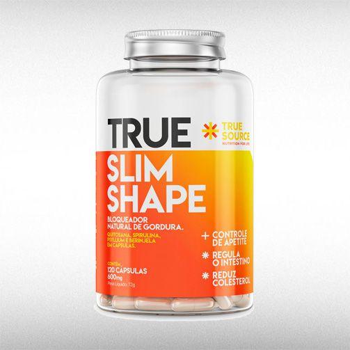 TRUE SLIM SHAPE 600MG (120CAPS) - TRUE SOURCE  - BRASILVITA