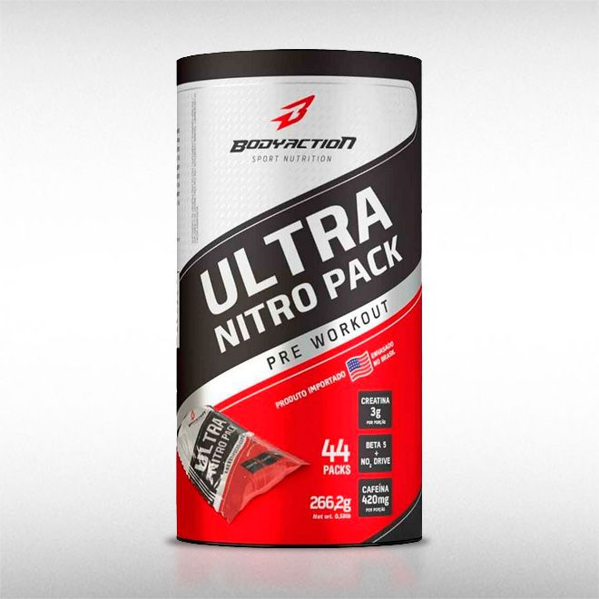 ULTRA NITRO PACK (44 PACKS) - BODYACTION  - BRASILVITA