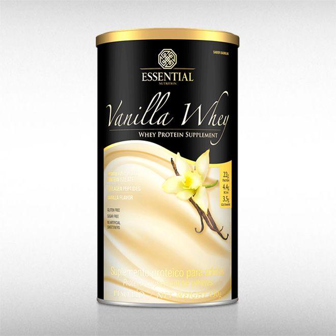 VANILLA WHEY (450G) - ESSENTIAL  - BRASILVITA