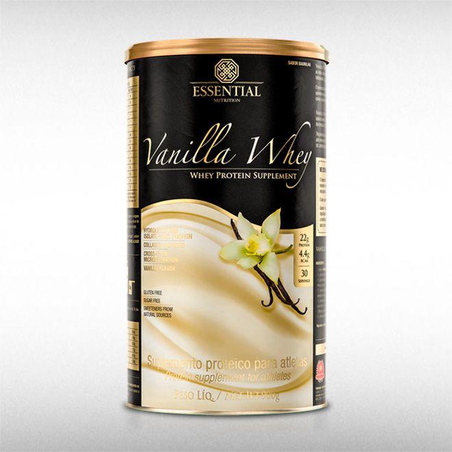 VANILLA WHEY (900G) - ESSENTIAL  - BRASILVITA