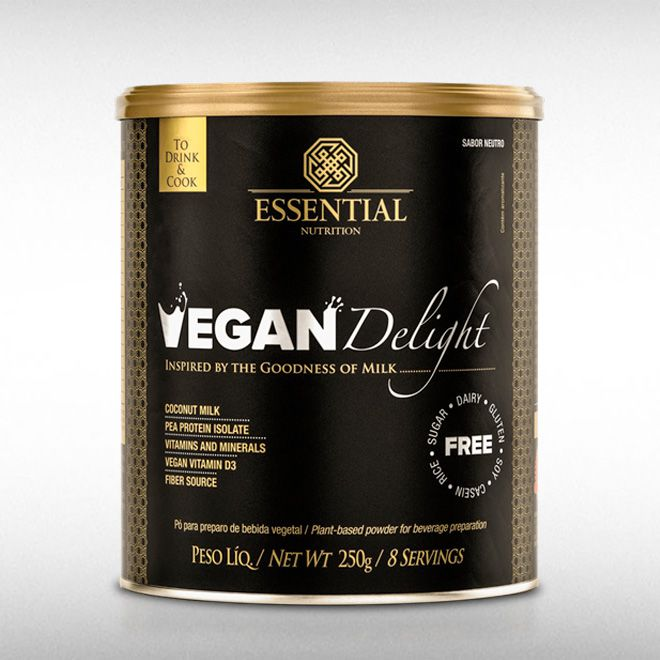 VEGAN DELIGHT (250G) - ESSENTIAL  - BRASILVITA