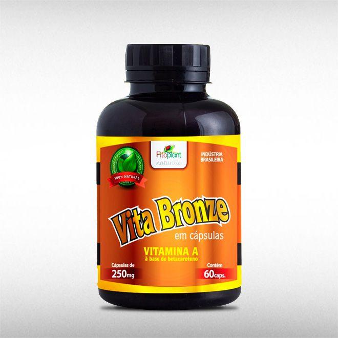VITA BRONZE 250MG (60CAPS) - FITOPLANT  - BRASILVITA