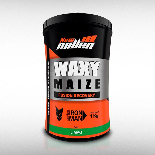 WAXY MAIZE FUSION RECOVERY POTE (1KG) - NEW MILLEN  - BRASILVITA