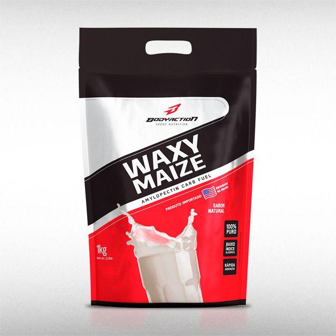 WAXY MAIZE PURE (1KG)  - BODYACTION  - BRASILVITA