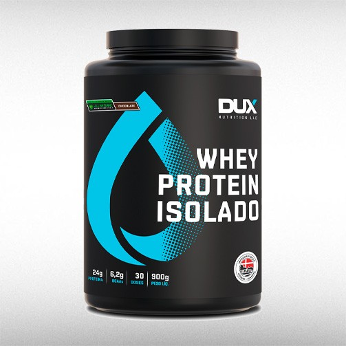 WHEY PROTEIN ISOLADO POTE (900G) - DUX NUTRITION  - BRASILVITA