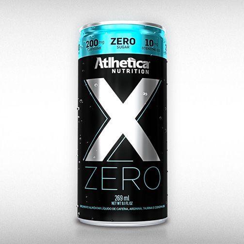 X ZERO (269ML) - ATLHETICA  - BRASILVITA