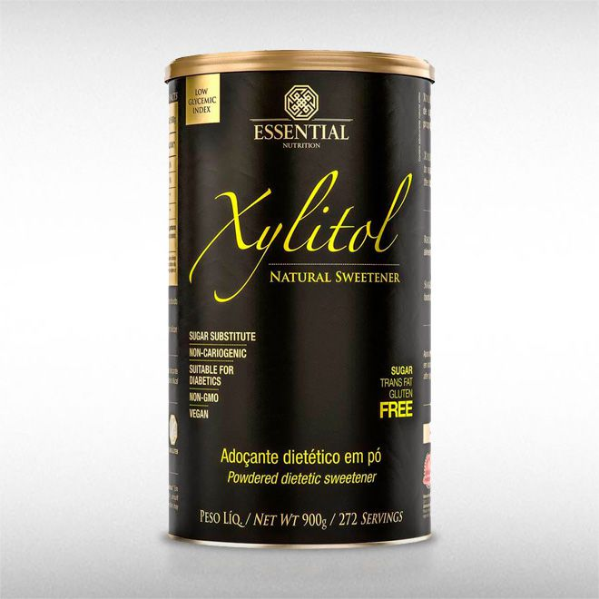 XYLITOL (900G) - ESSENTIAL  - BRASILVITA