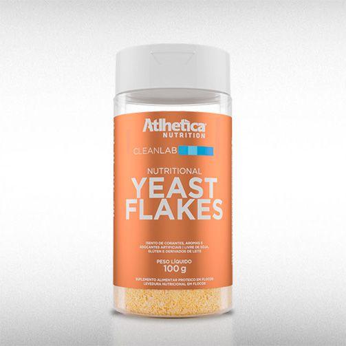 YEAST FLAKE CLEANLAB (100G) - ATLHETICA  - BRASILVITA