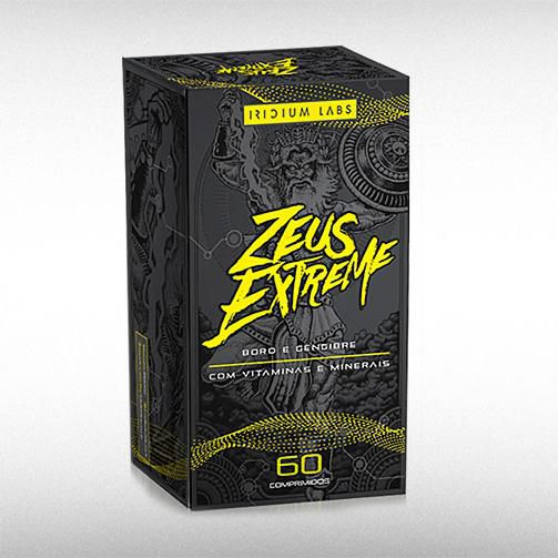 ZEUS EXTREME (60TABS) - IRIDIUM LABS  - BRASILVITA