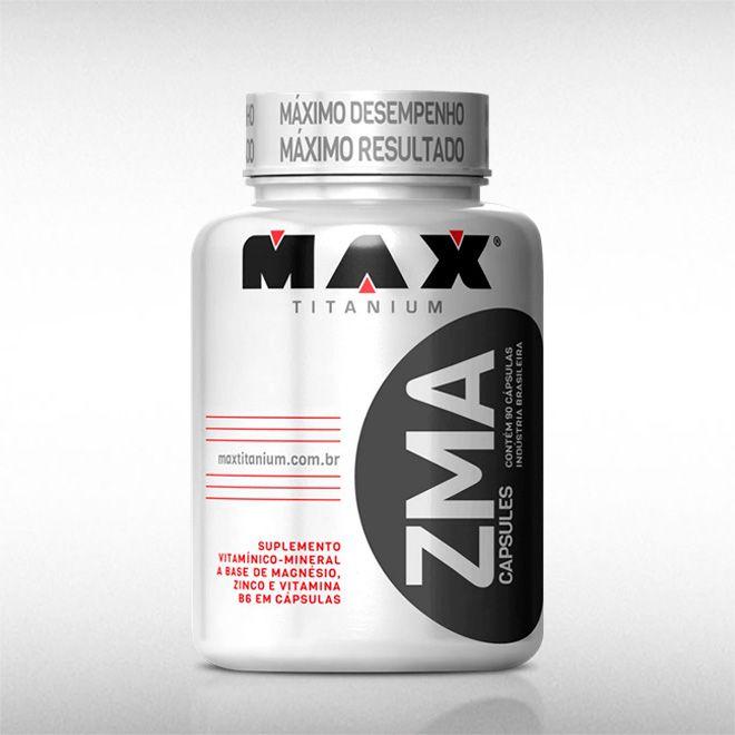 ZMA (90CAPS) - MAX TITANIUM  - BRASILVITA